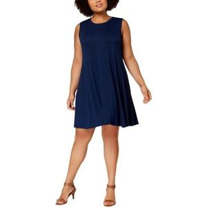 NWT Style & Co. Plus Size Swing Mini Casual Dress